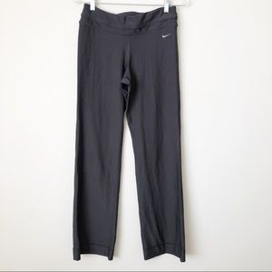 Nike Dri-Fit Gray Straight Leg Yoga Pants